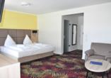 Zimmerbeispiel vom Avalon Hotel Bellevue.