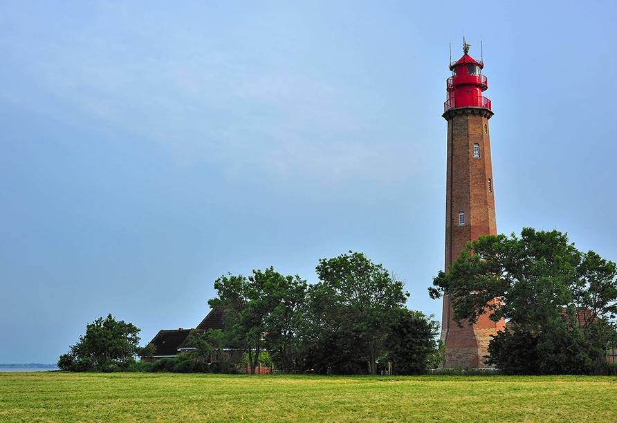 Der Flügger Leuchtturm ist einen Besuch wert.