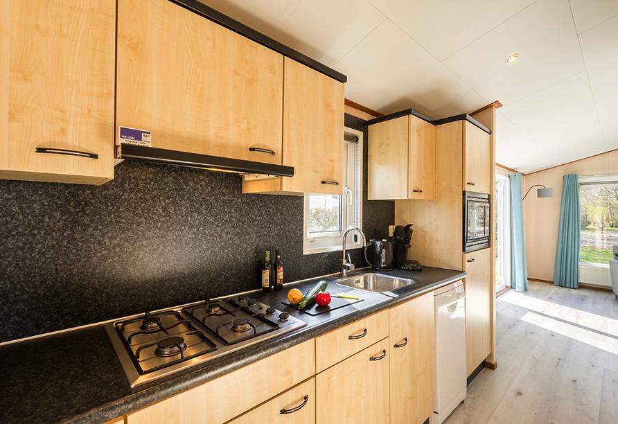 Roompot Kustpark Texel, Chalet Küche