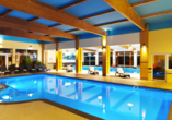 Hotel Kurhaus Bryza in Kolberger Deep an der polnischen Ostsee, Hallenbad