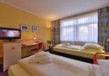 Michel & Friends Hotel Lüneburger Heide, Zimmerbeispiel getrennt