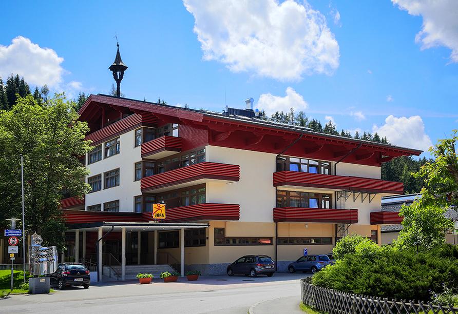 JUFA Hotel Altenmarkt, Außenansicht