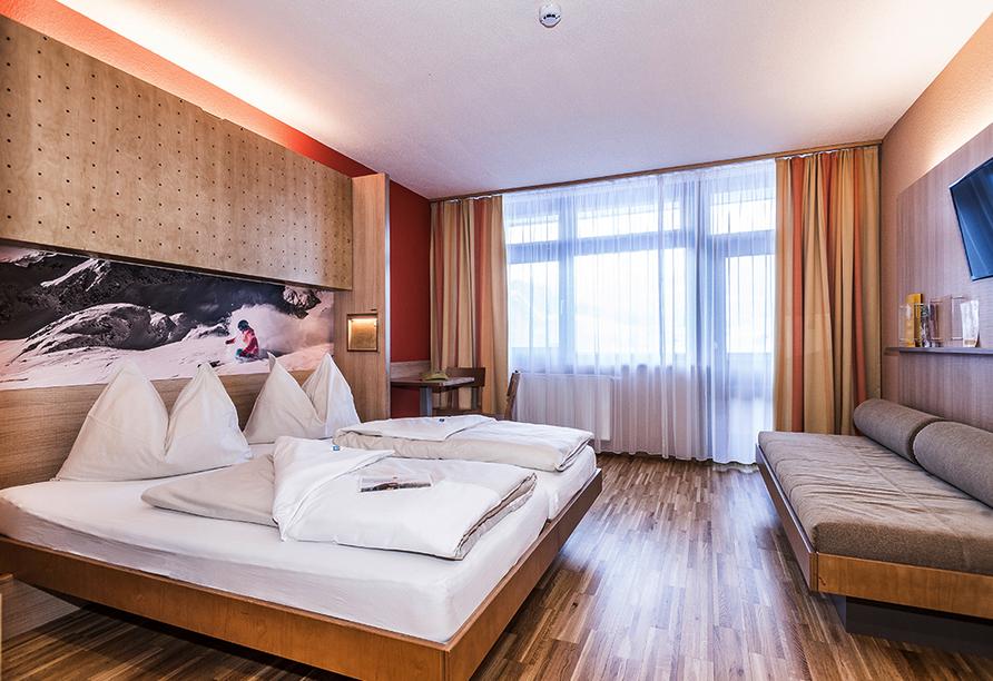 JUFA Hotel Altenmarkt, Zimmerbeispiel