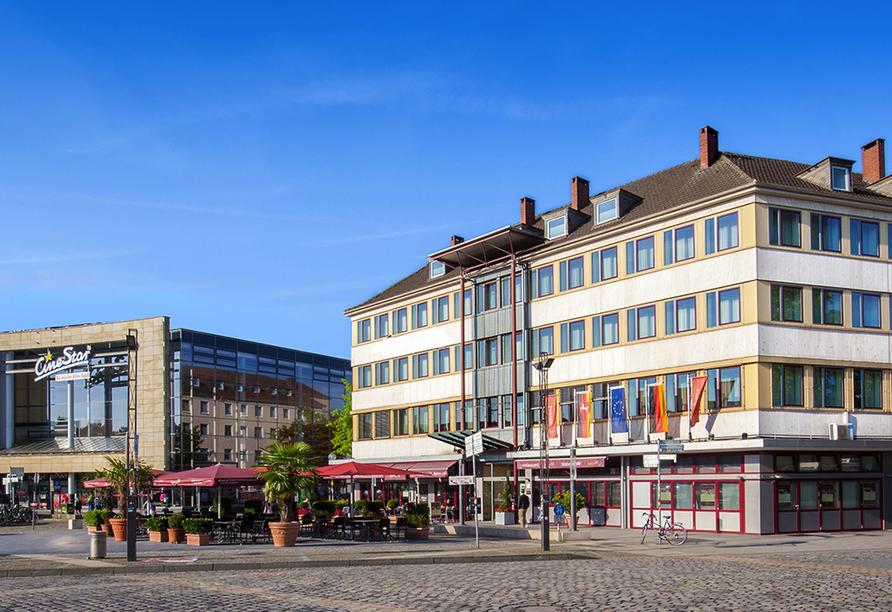 Best Western Hotel Hohenzollern in Osnabrück, Außenansicht