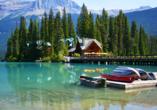 West-Kanada-Reise, Emerald Lake im Yoho Nationalpark