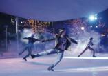Autostadt Woflsburg, Eiskunstlauf