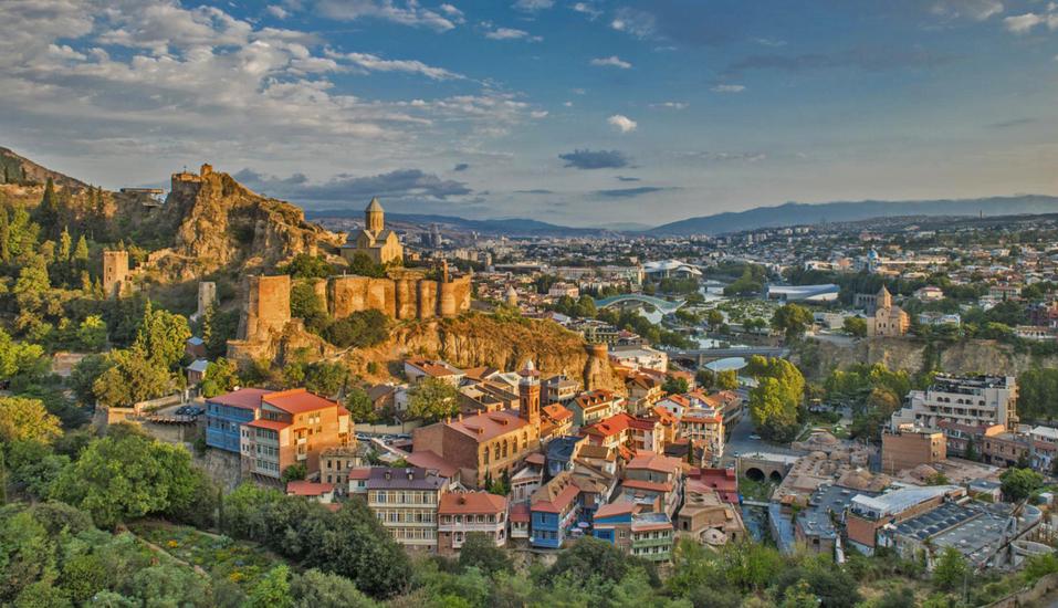 Geheimnisvoller Kaukasus, Tiflis und Festung Narikala