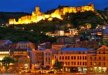 Geheimnisvoller Kaukasus, Tiflis bei Nacht