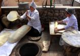 Geheimnisvoller Kaukasus, Lavaschbäckerei