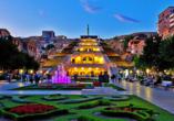 Geheimnisvoller Kaukasus, Jerewan am Abend
