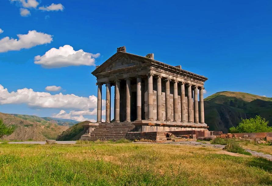 Geheimnisvoller Kaukasus, Garni Tempel