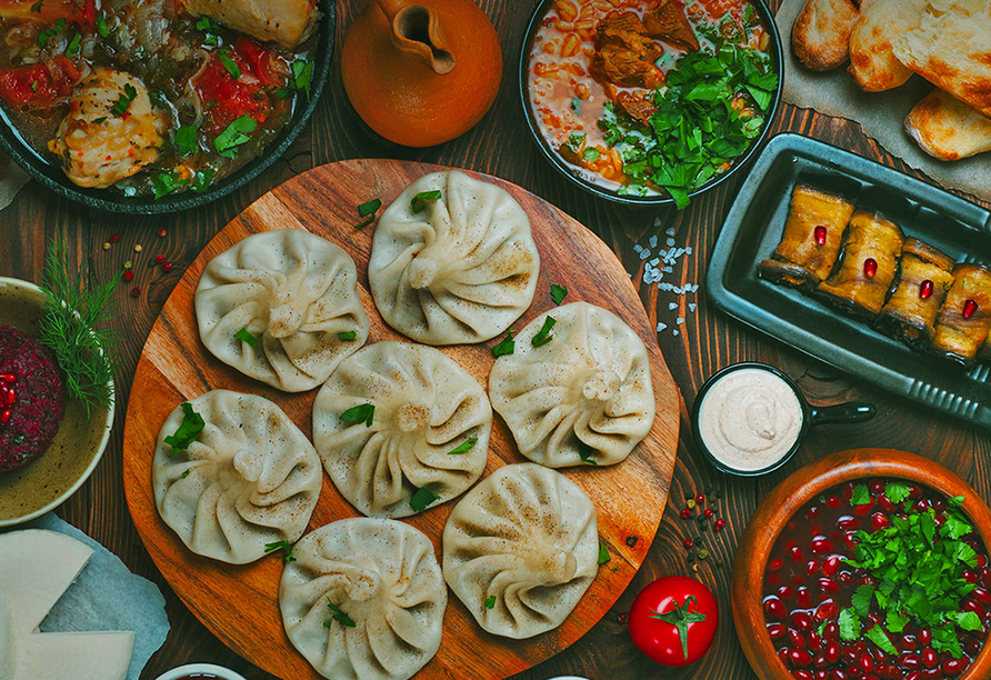 Geheimnisvoller Kaukasus, Georgische Küche