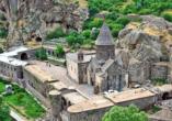 Geheimnisvoller Kaukasus, Höhlenkloster Geghard