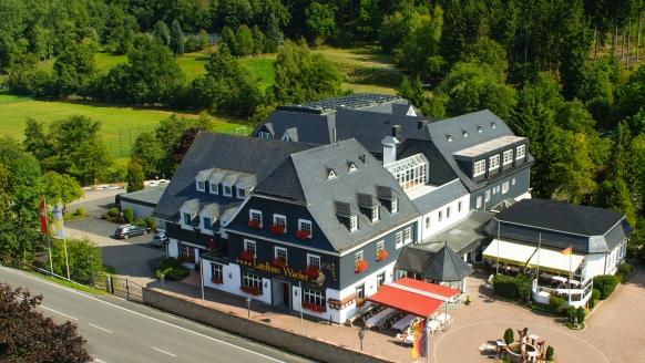 Hotel Landhaus Wacker, Außenansicht