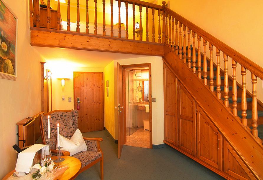 Beispiel einer Junior Suite im Hotel Landhaus Wacker