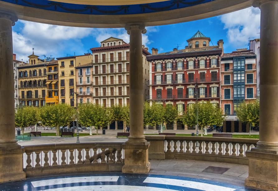 Zentral- und Nordspanien entdecken, Pamplona
