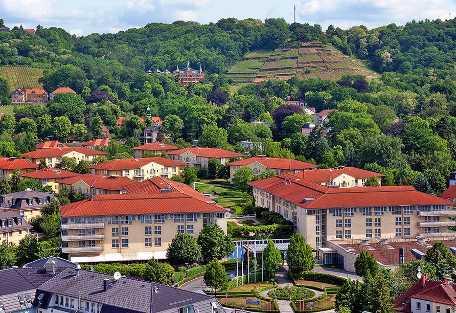 Radisson Blu Park Hotel Dresden, Außenansicht