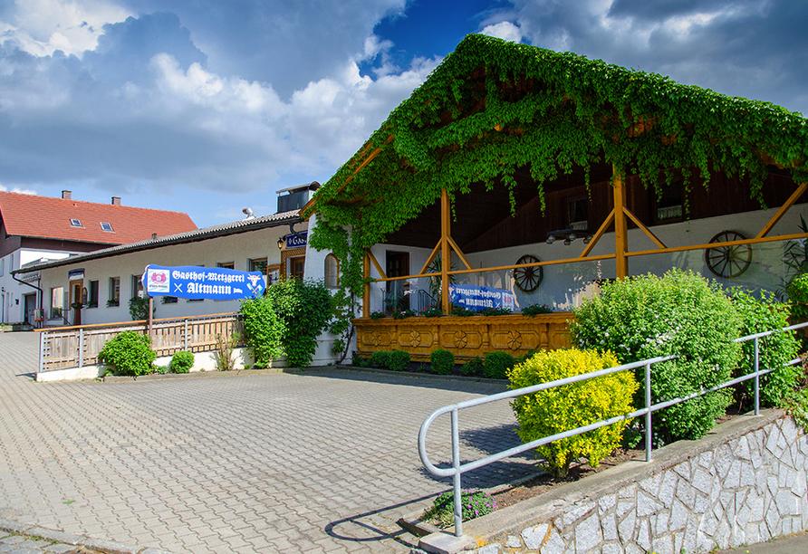 Gasthof Altmann in Warzenried, Außenansicht