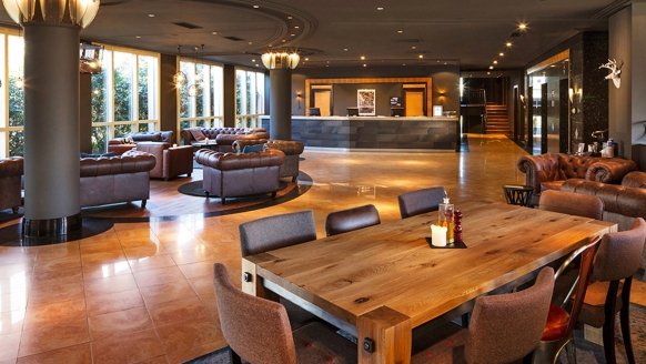Pentahotel Chemnitz, Lounge & Rezeption