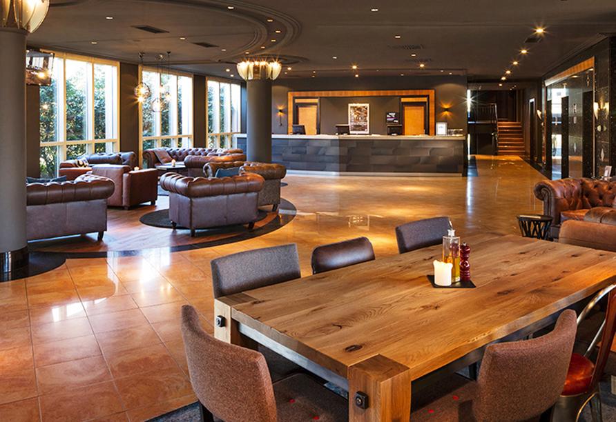 Pentahotel Chemnitz, Lounge & Rezeption