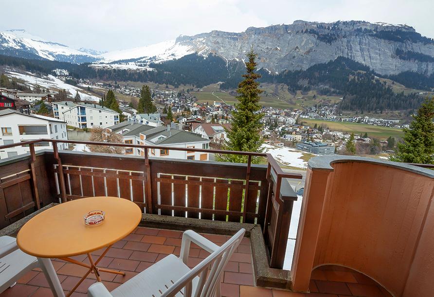 T3 Hotel Mira Val, Aussicht