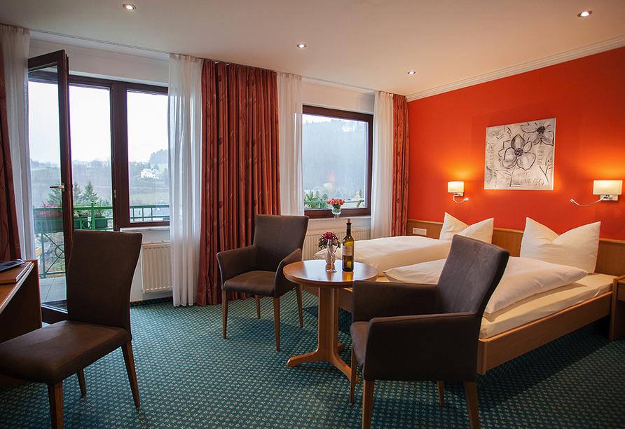 Hotel Edelweiss in Willingen, Zimmerbeispiel