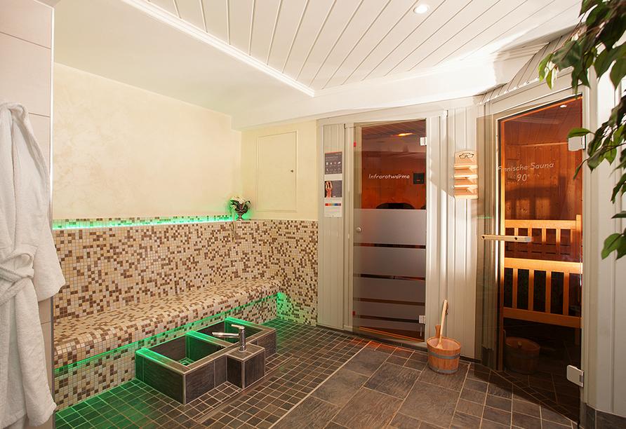 Hotel Edelweiss in Willingen, Sauna