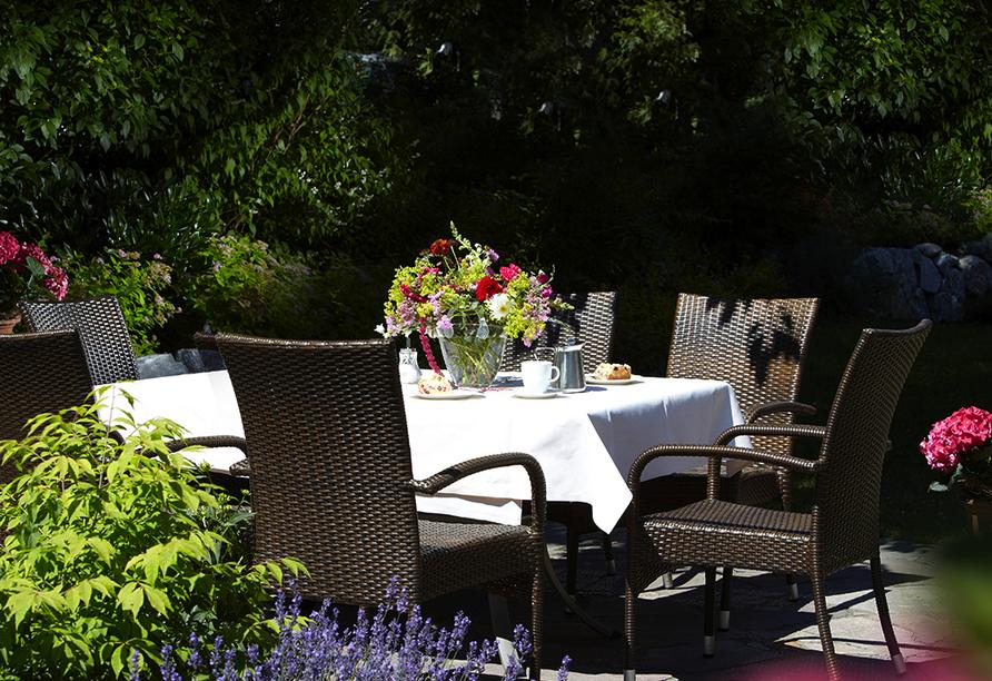 Hotel Edelweiss in Willingen, Garten