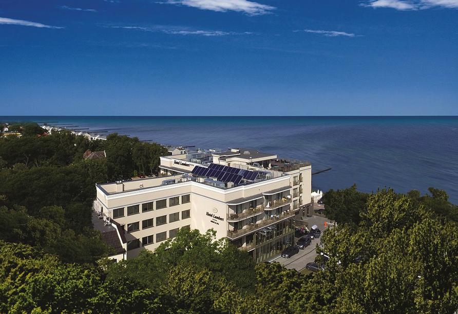 Hotel Lambert Medical Spa Polnische Ostsee, Außenansicht