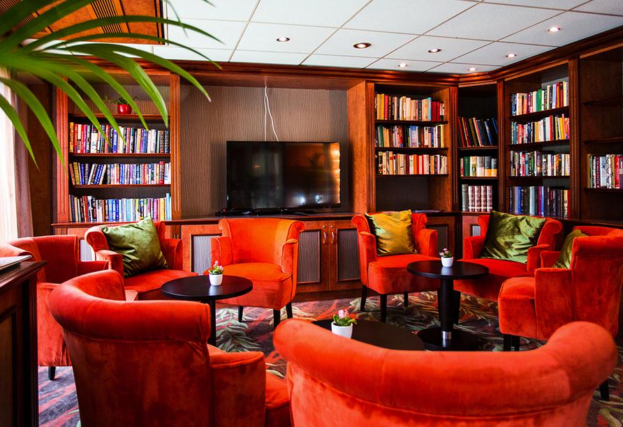 MS Fortuna, Bibliothek