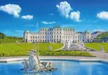 MS Fortuna, Wien Schloss Belvedere
