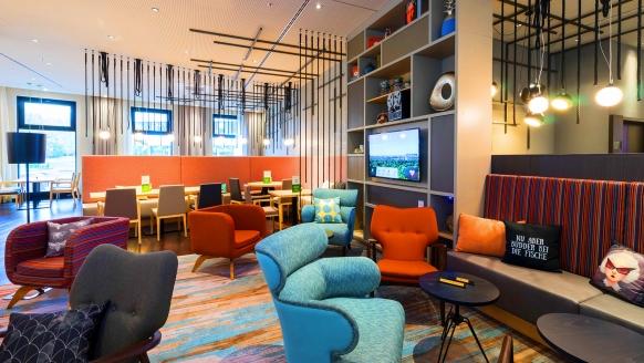 Holiday Inn Hamburg - City Nord, Restaurant und Lounge