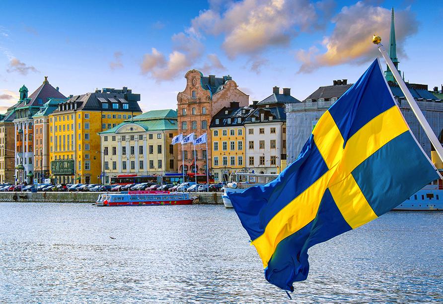 Rundreise durch Schweden, Norwegen und Finnland, Stockholm