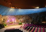 Rundreise durch Schweden, Norwegen und Finnland, Töölö Temppeliaukio Felsenkirche