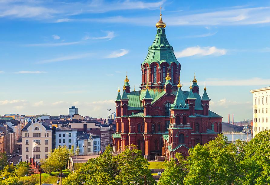 Rundreise durch Schweden, Norwegen und Finnland, Uspenski-Kathedrale in Helsinki