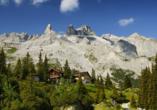Hotel Alpenhof in St. Anton am Arlberg, Österreich, Berge