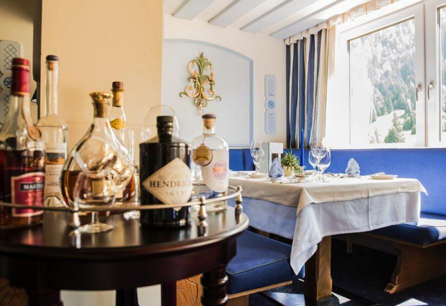 Hotel Kertess in St. Anton am Arlberg, Restaurant