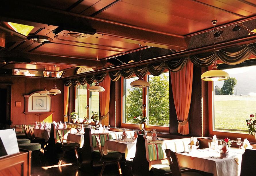 Hotel Berghof Mitterberg, Restaurant
