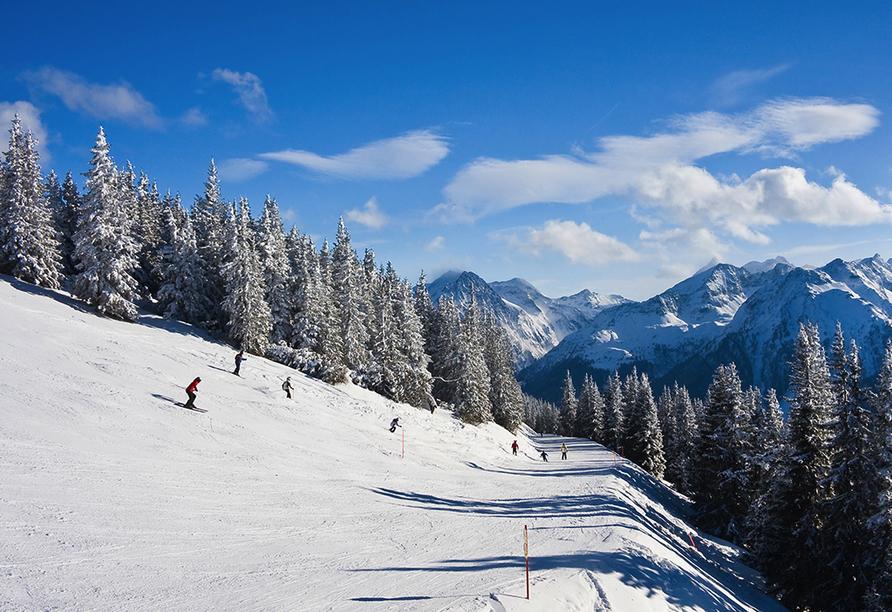 Hotel Berghof Mitterberg, Skifahren