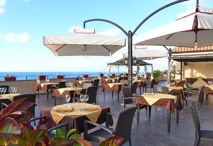 Hotel Cannamele, Terrasse
