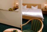 Hotel Am Kurhaus in Bad Schlema, Zimmerbeispiel