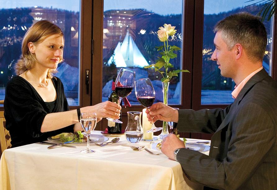 Hotel Am Kurhaus in Bad Schlema, restaurant