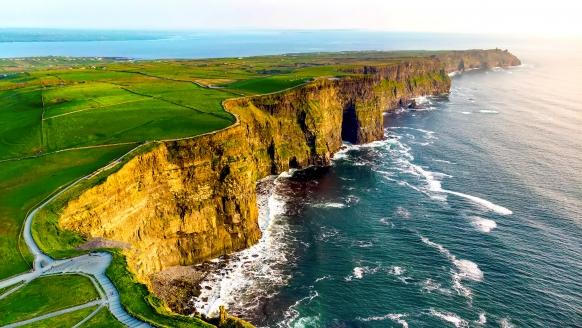 Rundreise Irland, Klippen von Moher