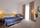 Hotel Borgata in Henkenhagen an der polnischen Ostsee, Zimmerbeispiel