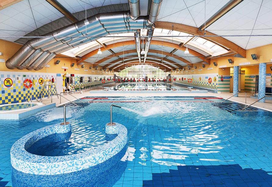 Hotel Borgata in Henkenhagen, Aquapark Helios Hallenbad