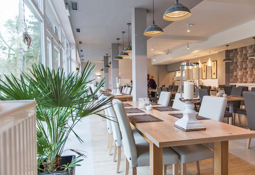 Hotel Borgata in Henkenhagen an der polnischen Ostsee, Restaurant