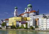 Hotel Schweizer Hof in Bad Füssing im Bayerischen Wald , Ausflugsziel Passau