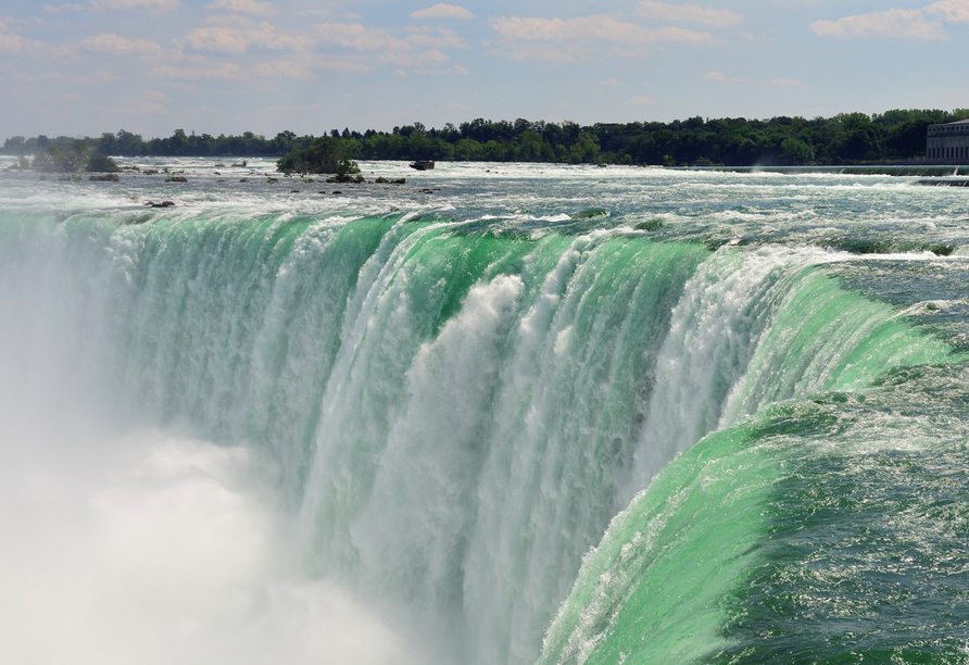 Kanadas Highlights von Ost nach West, Niagarafälle