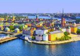 MSC Preziosa, Stockholm