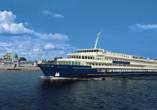 MS Wolga Star, Außenansicht Schiff
